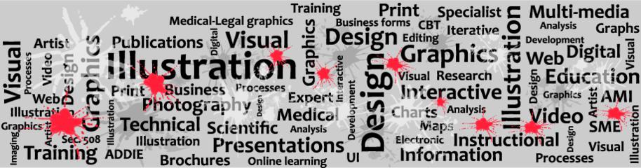 Greg Marlow, Visual Information Services - Illustration - Design